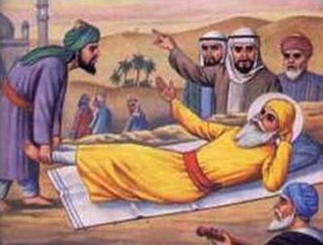 Je vyprávění o Nánakově návštěvě Mekky podobenstvím, nebo popisem nadpřirozené události?
