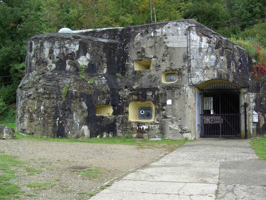 Účelem pevnosti Eben-Emael byla obrana proti německé invazi.