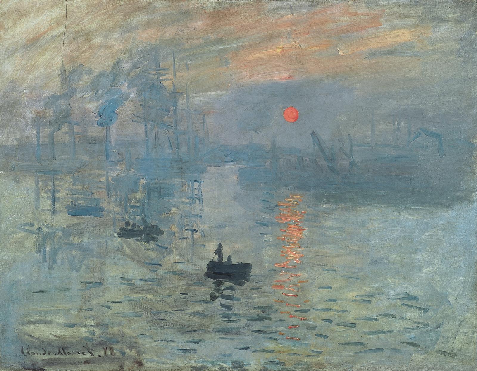 Monetův obraz dal jméno celému uměleckému směru.