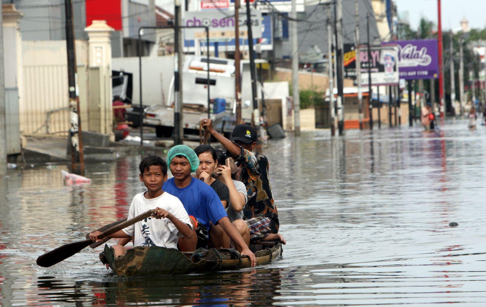 Šance na záchranu Jakarty je velmi malá.