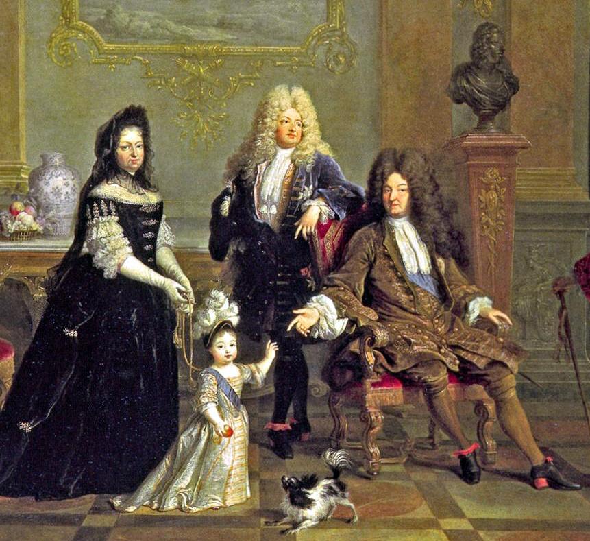 Kravatám se na dvoře Ludvíka XIV. daří. Panovník má dokonce i vlastního cravatiera.