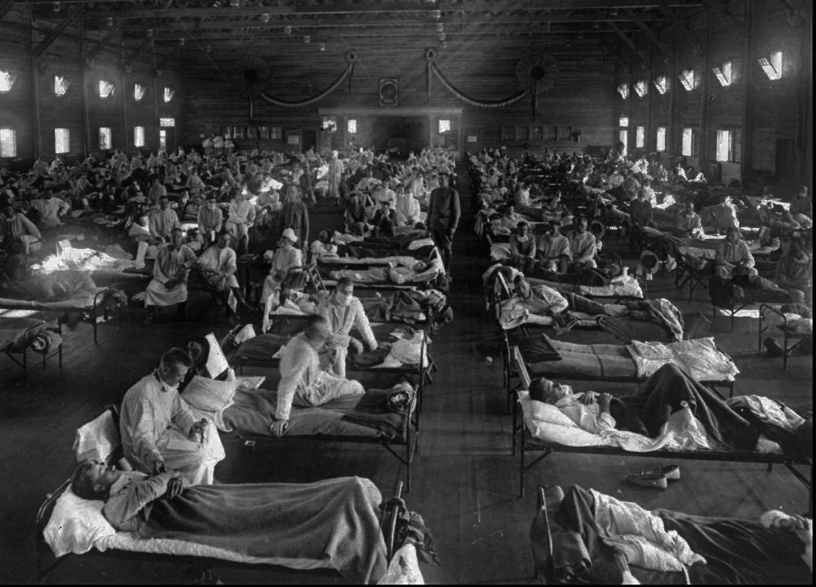 Nejnebezpečnější chřipka byla španělská chřipka, na kterou zemřely desítky miliony lidí.