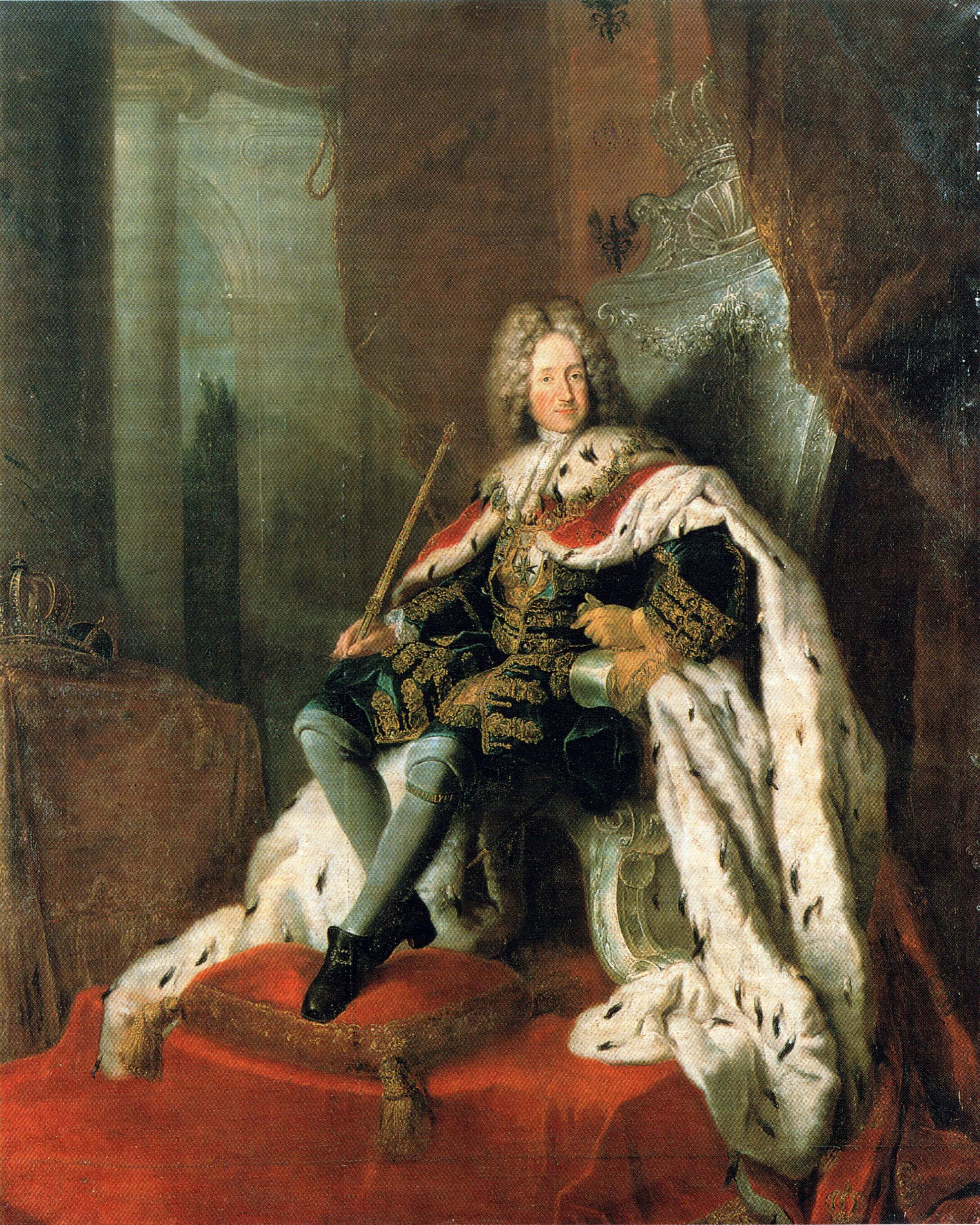 Poklad nedozírné hodnoty nechal v roce 1701 vytvořit první ruský král Fridrich I.