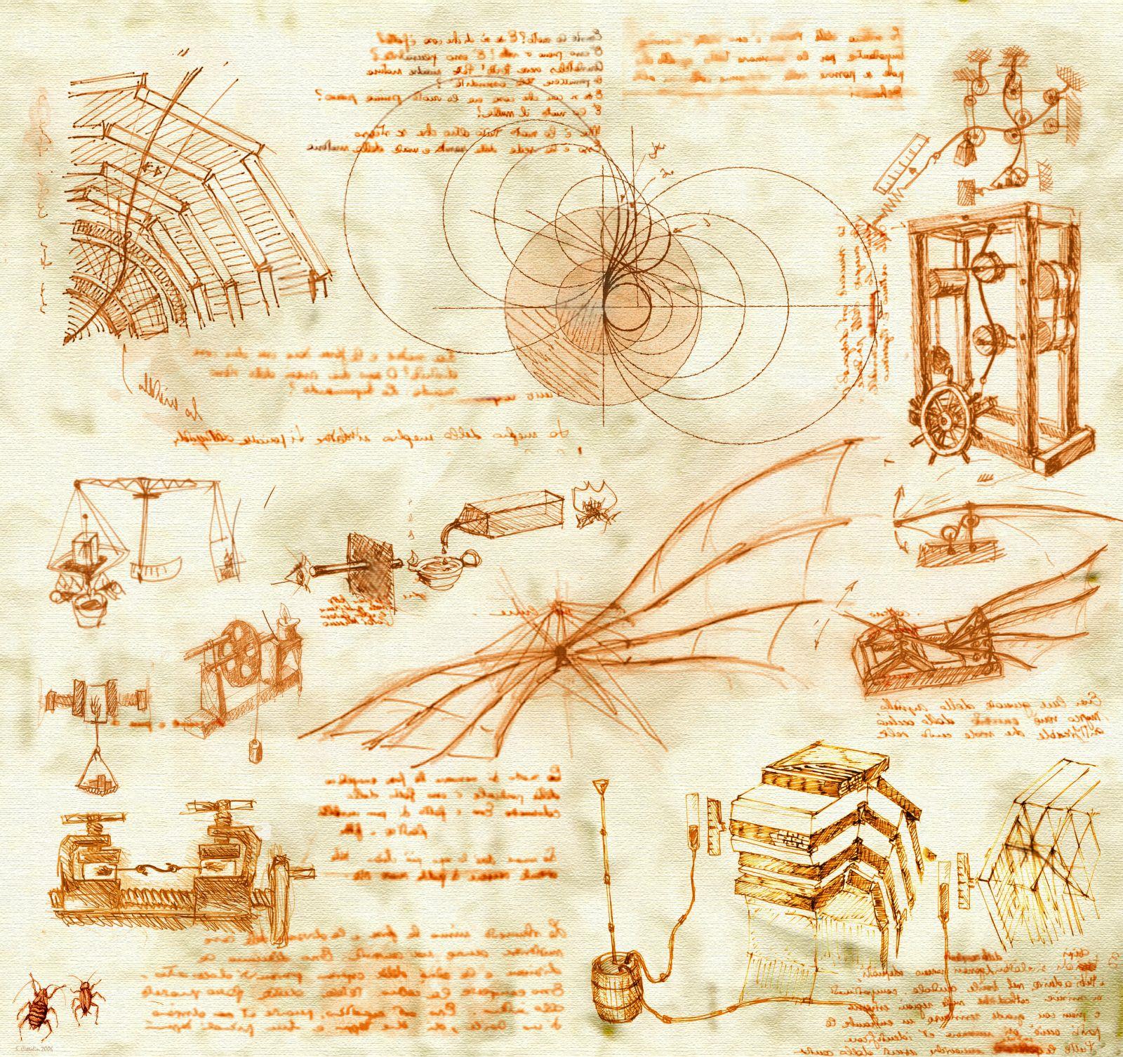 Da Vinci vynalezl mnoho objevů, nad kterými i dnes zůstává rozum stát.