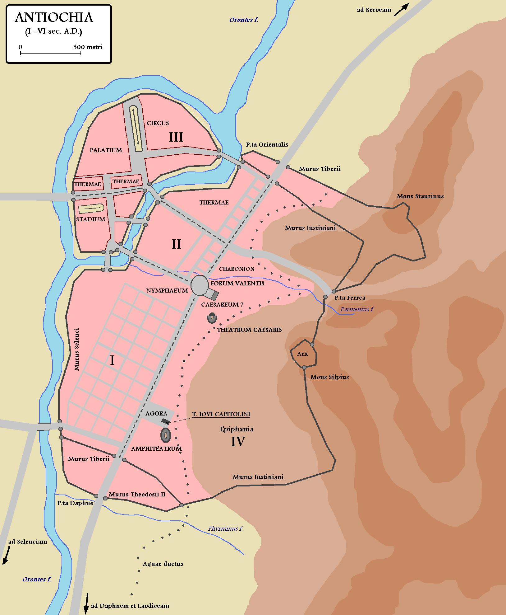 Antiochie je svého času skutečnou perlou Říše římské.