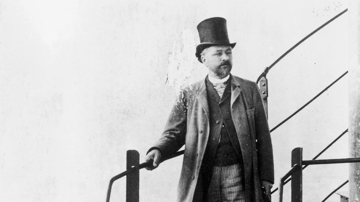 Kromě věže v Paříži se Gustav Eiffel proslavil i návrhem kostry Sochy Svobody.