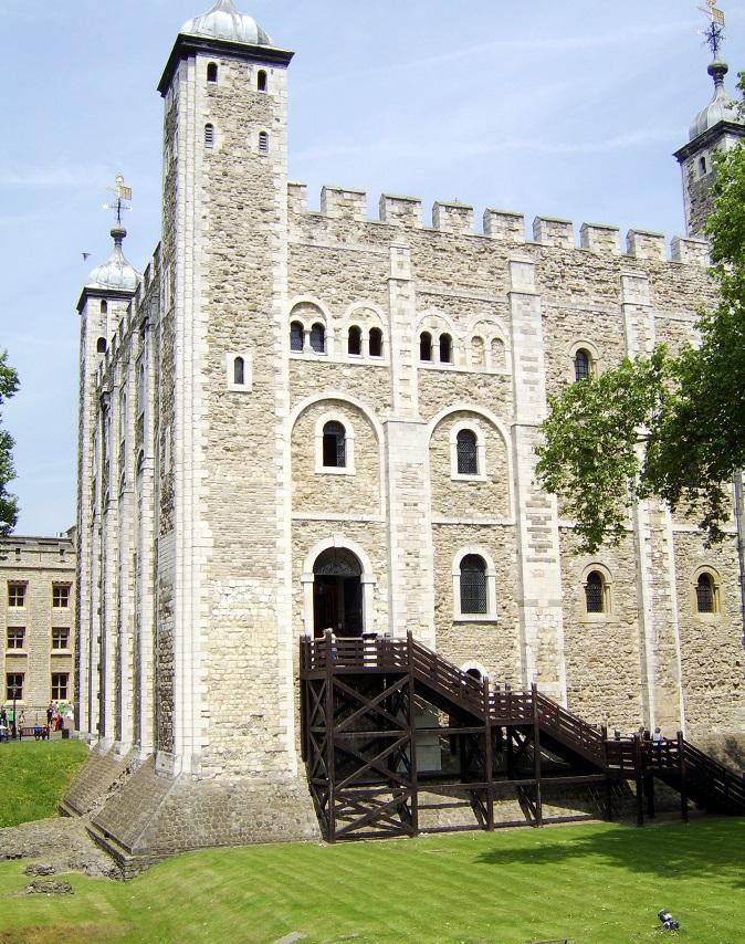 Tower vybudoval Vilém Dobyvatel.