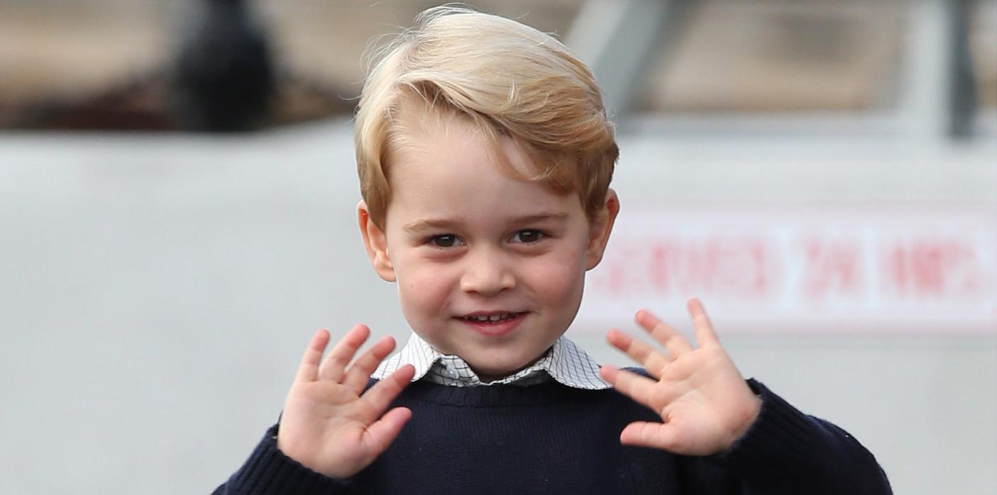 Malý princ George.