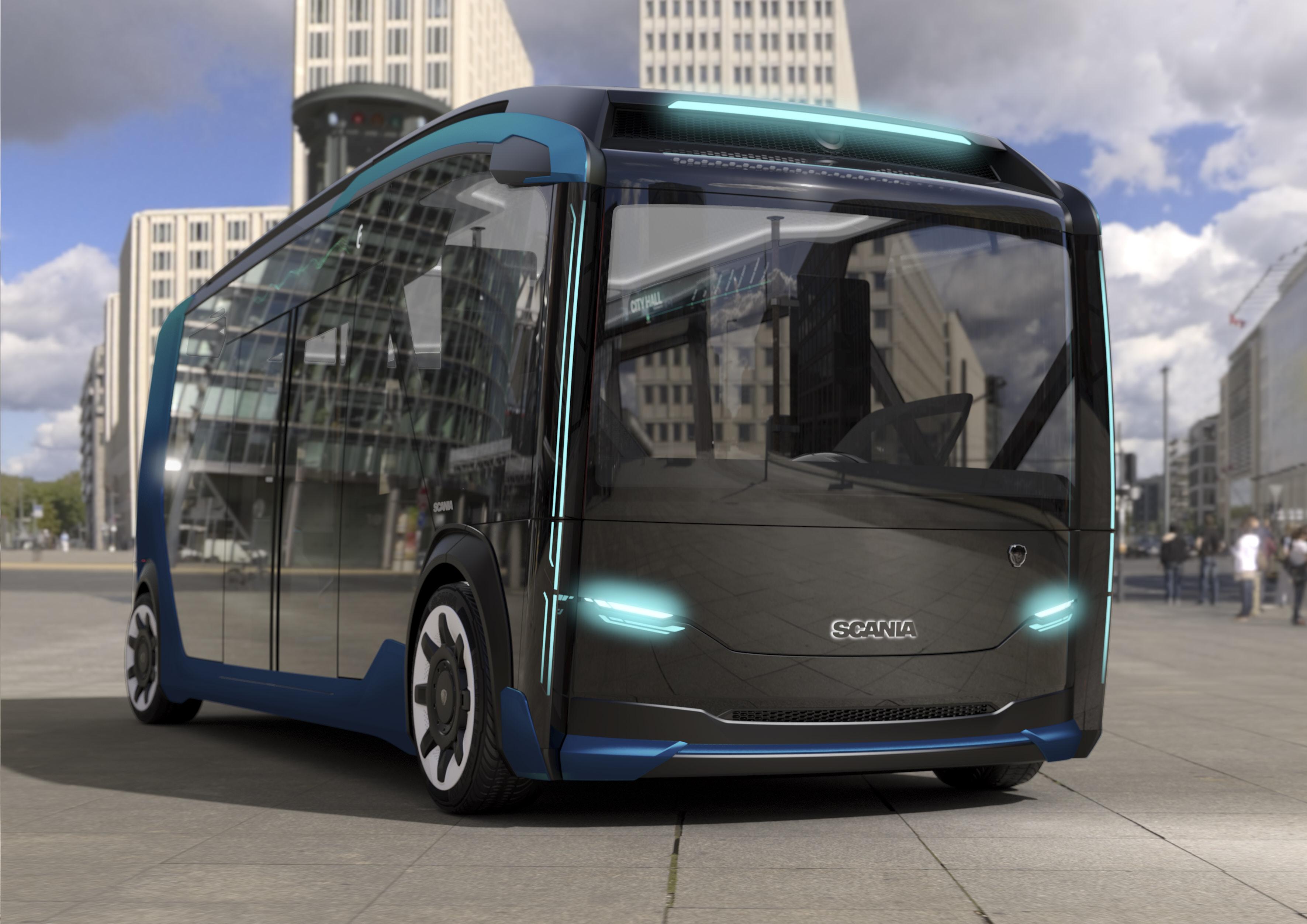 Osmimetrový autobusový modul je sestaven jako jedna kompozitní jednotka.