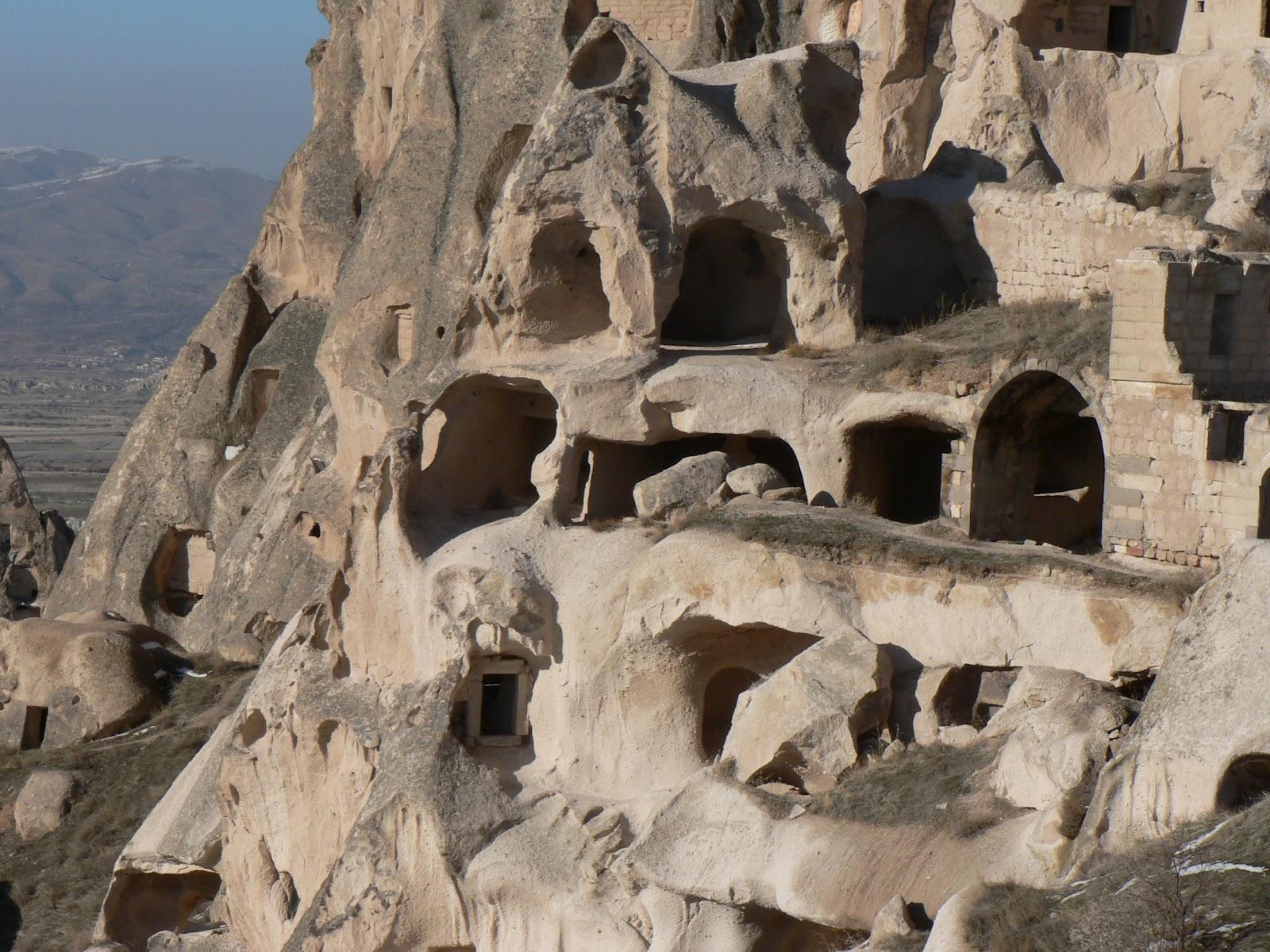 Nejstarší zprávy o tunelech v Kappadokii pocházejí už z 5. stol. př. n. l.