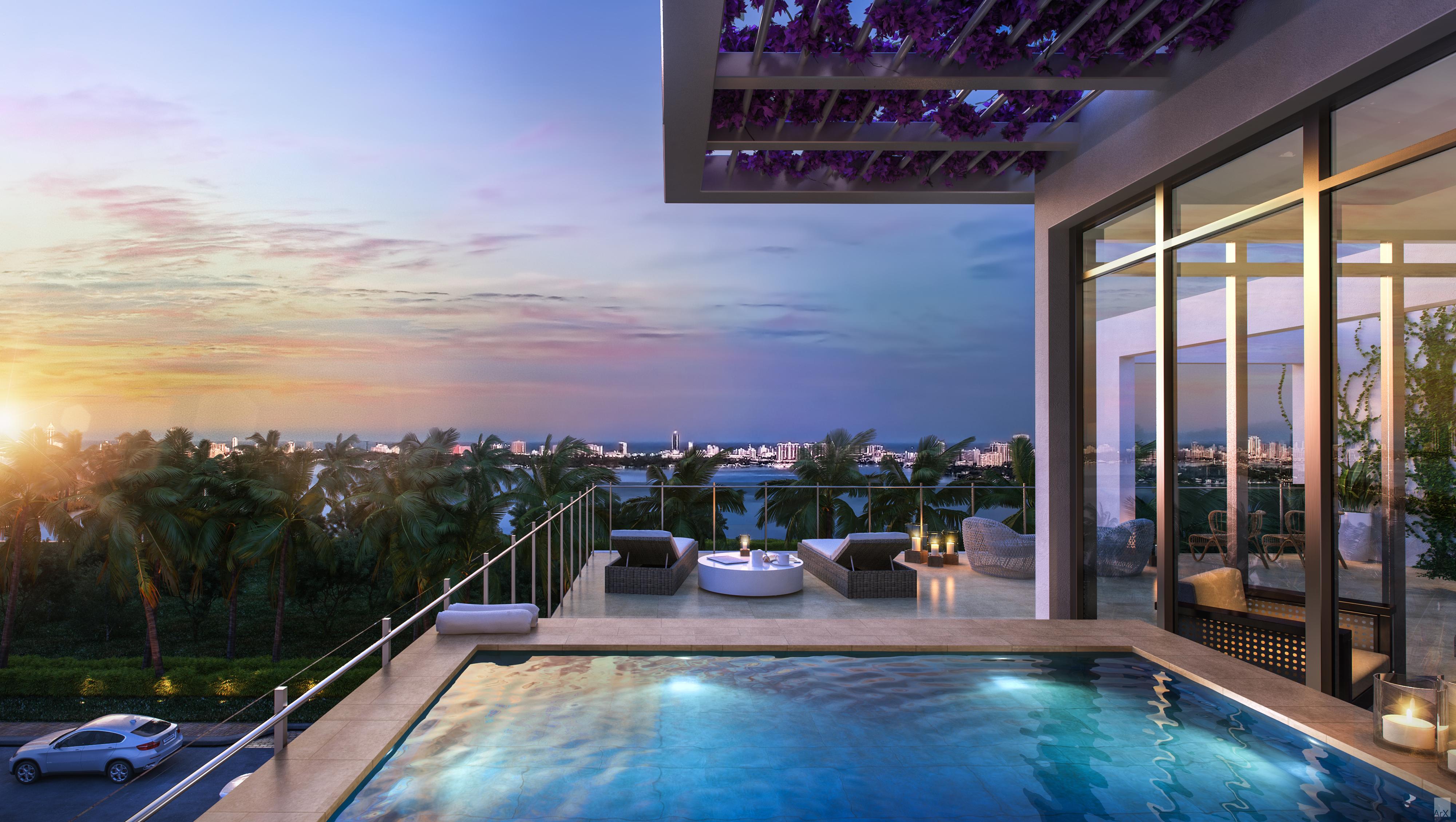 Miami představuje lukrativní místo, kde se potkávají úspěšní lidé z celého světa
