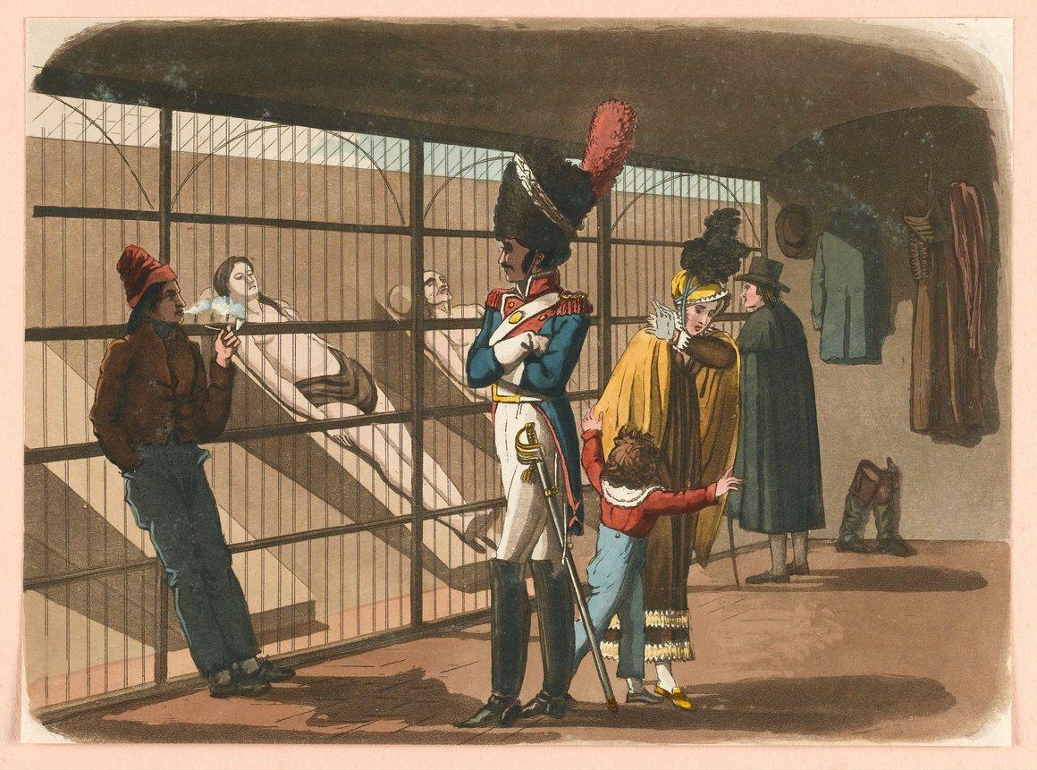 Do roku 1882 se místnosti řádně nechladí. Po třech dnech jsou proto těla odklizena.
