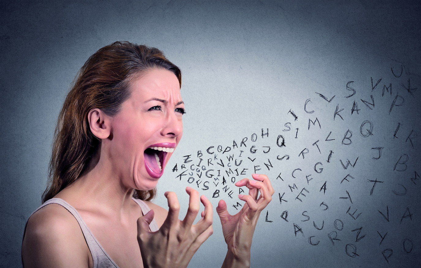 Slova jsou jako déšť a někdy prší kyselé deště plné zloby a nenávisti.