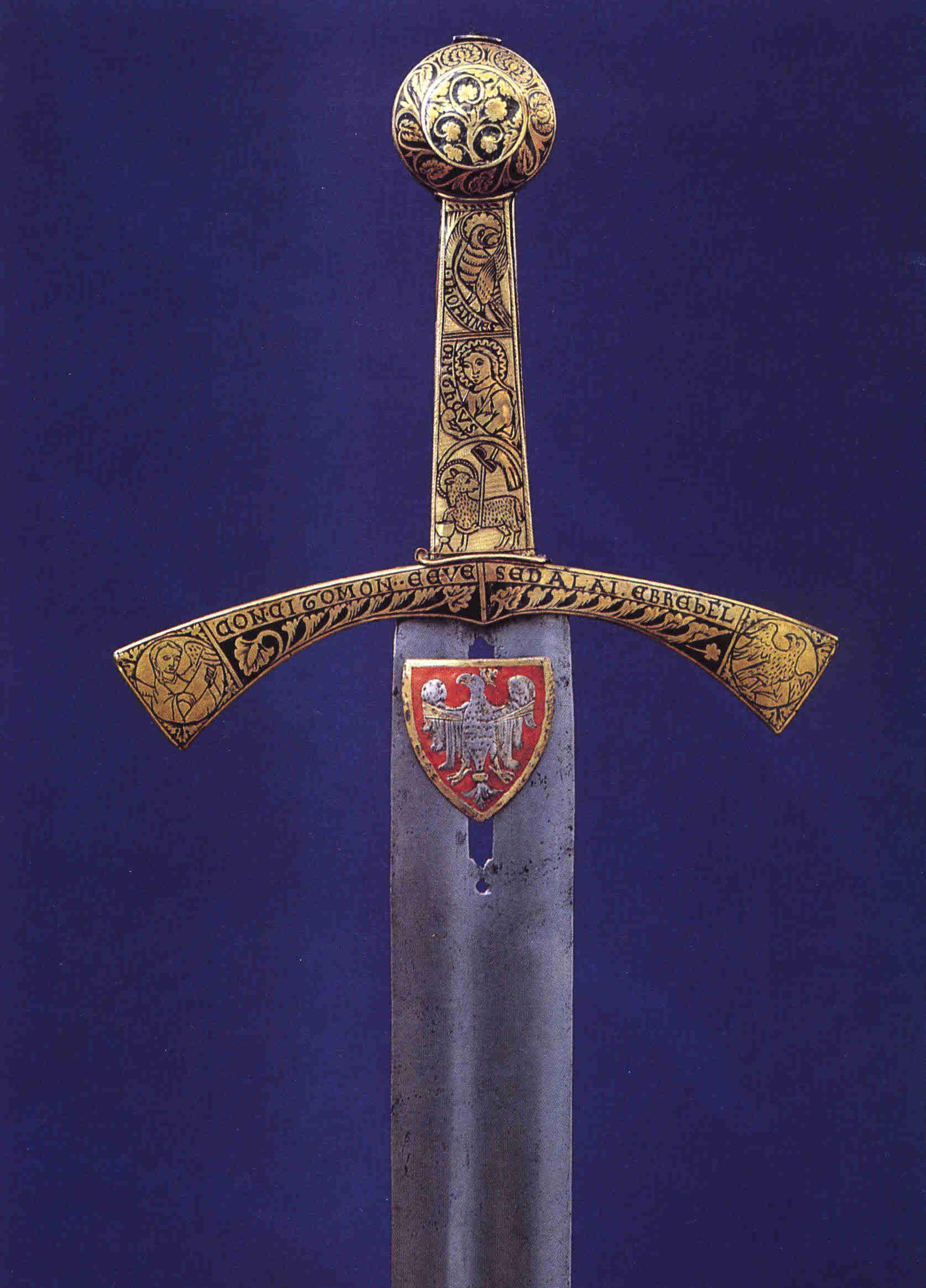 Historie polského meče Szczerbiec sahá až do 13. století.
