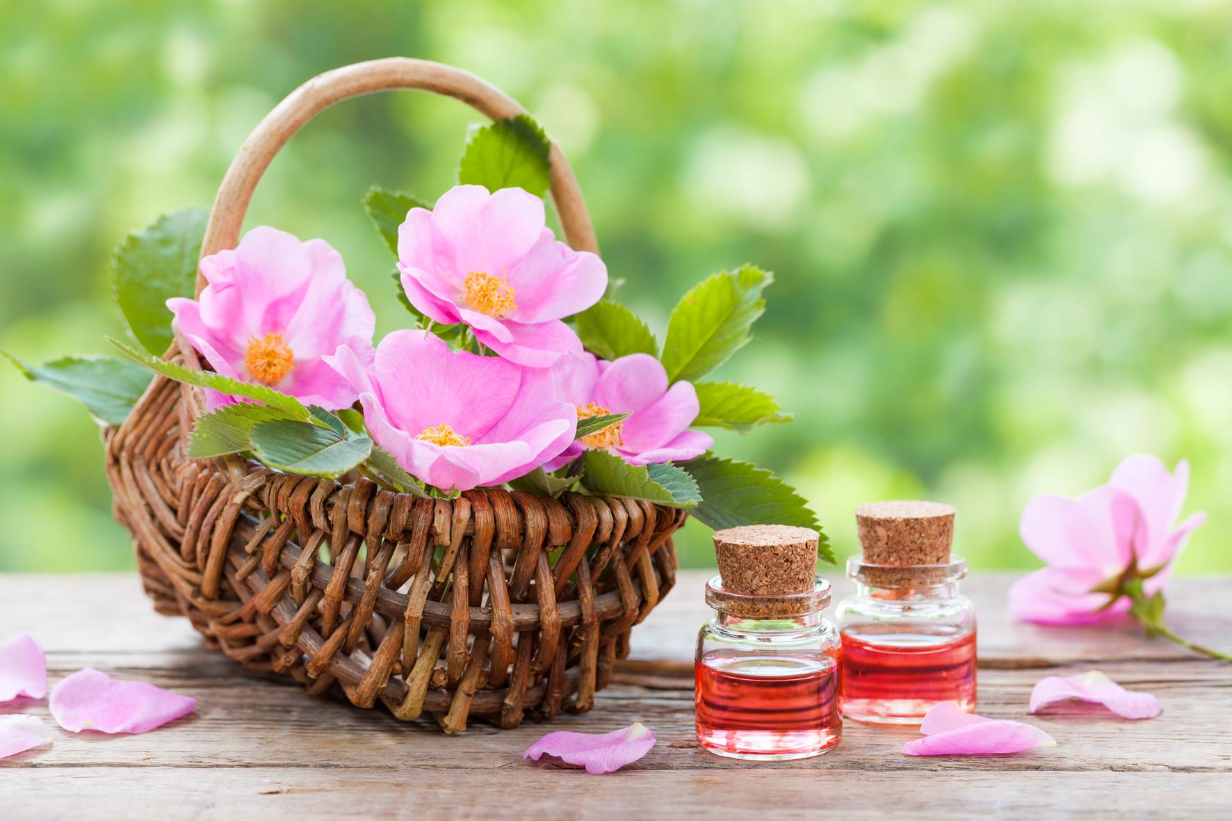 V kosmetice se spíš uplatňují květy.