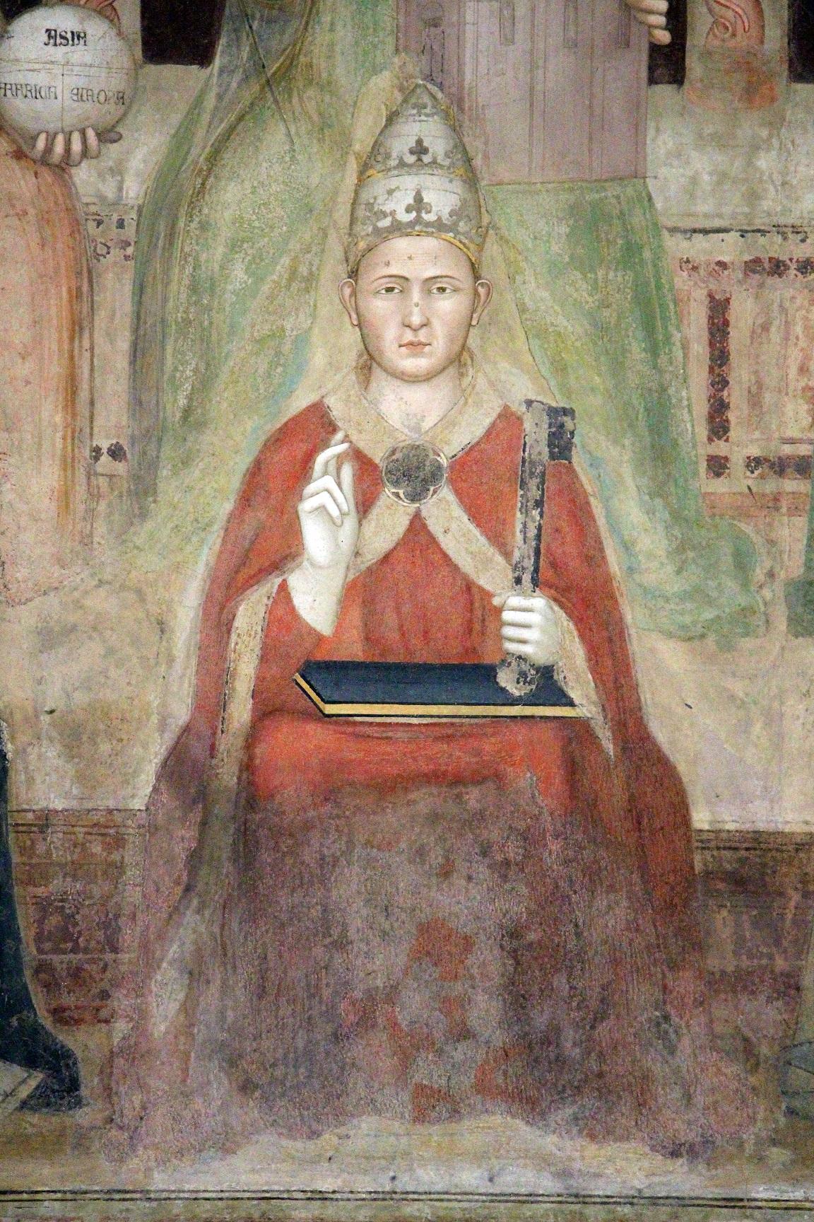 Mocenský konflikt s papežem Bonifácem VIII. vyústil roku 1305 v papežovo zajetí a prosazení Francouze Klementa V. na papežský stolec.