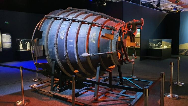 V interaktivním Cosmoscampu bude možné vyzkoušet náročný výcvik kosmonautů i 3D technologie.