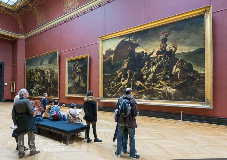 Obraz, který je dnes považován za ikonu romantismu a ovlivnil celou řadu malířů, krátce po autorově smrti zakoupil pařížský Louvre, kde je vystaven dodnes.