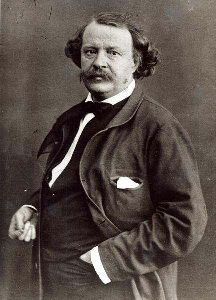 Nadar, francouzský fotograf, vlastním jménem Gaspard-Félix Tournachon, vytvořil portréty mnoha celebrit své doby a byl také autorem prvních leteckých fotografií na světě.