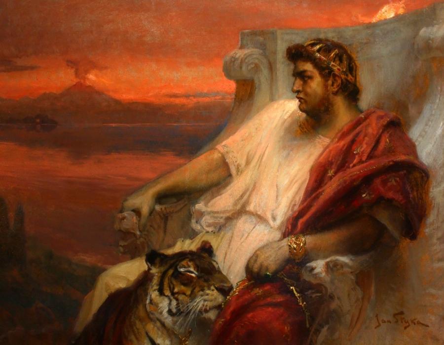 Šílený císař Nero:  Pronásledoval ho duch jeho matky?