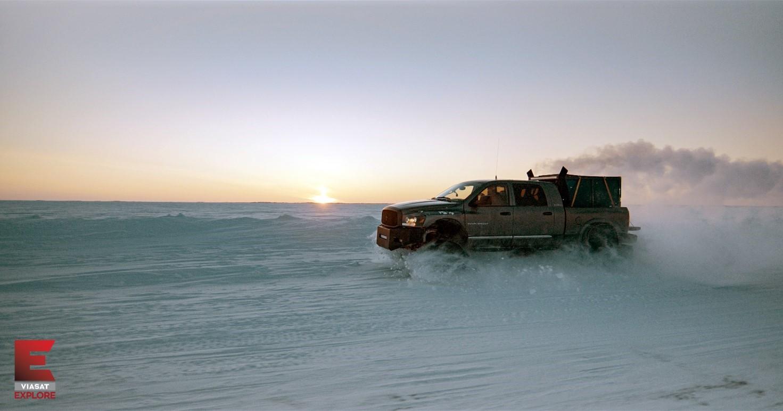 Jak se žije truckerům na okreskách v Kanadě?