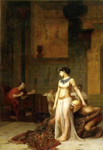 Vztah s Kleopatrou byl spíše politickým tahem než románkem, i když ho Římané Caesarovi vyčítali.