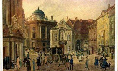 Ulice ve staré vídeňské čtvrti