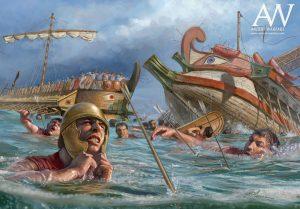 V bitvě u Mysu Eknomos padlo více než 40 000 lidí!
