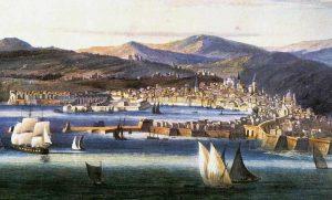 Plavbu do Španělska malí arcivévodové zvládli bez mořské nemoci.