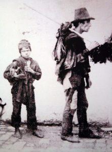Momentka z Itálie z konce 19. století.