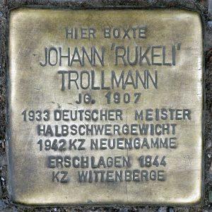 Trollmannův kámen zmizelých v Berlíně-Kreuzbergu