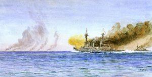 Britská posádka je z větší části složena ze záložáků.