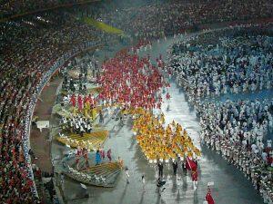 Na zahájení letní olympiády v Pekingu 2008 si čínští inženýři objednali modrou oblohu.