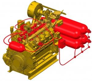 Koncept nového motoru