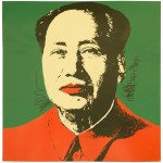 Jeden z legendárních sítotisků znázorňujících Mao Ce-tunga můžete vydražit na konci ledna v Hong Kongu.