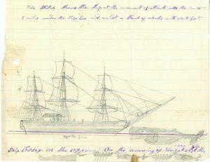 Essex byl 27 metrů dlouhou velrybářskou lodí s tonáží 238 tun.