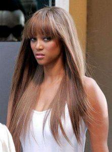 …Nebo modelka Tyra Banksová.