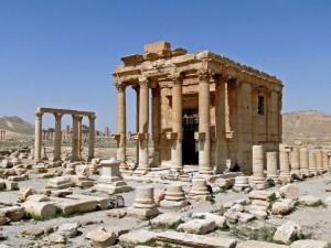 Islámští radikálové neušetřili ani Baal-Šaminův chrám v syrské Palmýře.