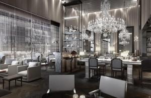Hotel Baccarat Crystal Palace v New Yorku