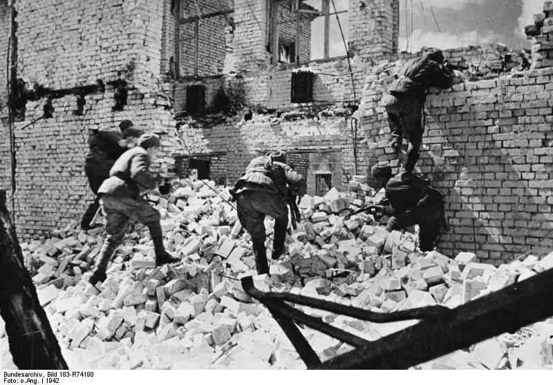 Russland, Kesselschlacht Stalingrad