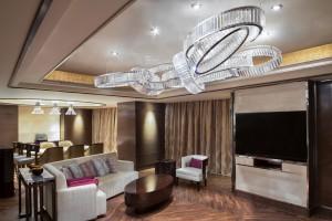 Instalace značky Preciosa v Marriott Hotelu v Zhengzhou