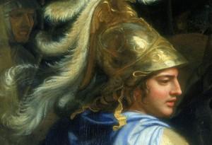 Alexandr Veliký ví, jak si má získat popularitu svých vojáků.