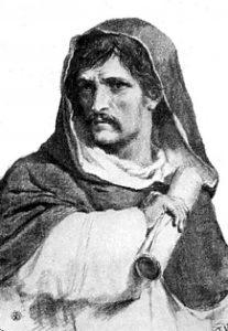 Andělský hrad jistou dobu slouží i jako žalář. Vězněn je zde i italský astronom Giordano Bruno.