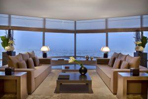 Armani Dubai Suite se nachází v ikonickém mrakodrapu Burdž Chalífa.