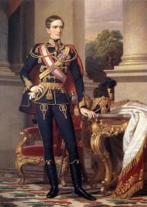 Během tažení na Apeninském poloostrově dohlíží na budoucího císaře Františka Josefa I. Dost mu to komplikuje život.