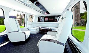 Bell 525 Relentless ve všech ohledech překonává luxusní automobilové limuzíny, jejichž interiéry se staly pro tvůrce tohoto vrtulníku inspirací.