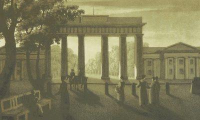 Braniborskou bránu dal jako symbol míru postavit Fridrich Vilém II.