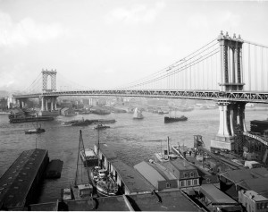 Brooklynský most uleví přelidněnému New Yorku.