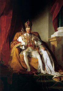 Císař František I. Rakouský se ožení celkem čtyřikrát.