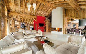 Chalet Owens patří k nejluxusnějším zimním rezidencím ve francouzských Alpách.
